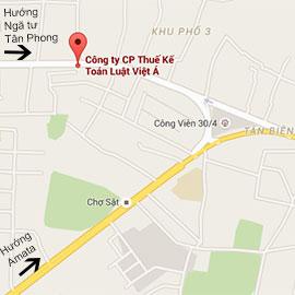 Dịch vụ thành lập công ty tại Đồng Nai Hình bản đồ